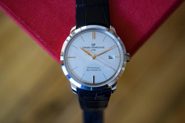 Girard-Perregaux 1966 50th Anniversary dial closeup