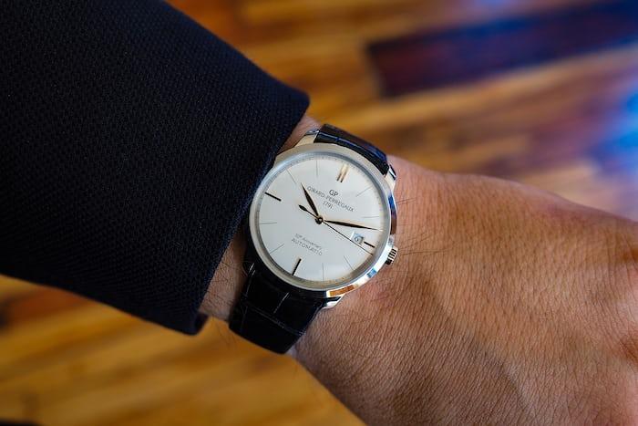 Girard-Perregaux 1966 50th Anniversary wrist shot