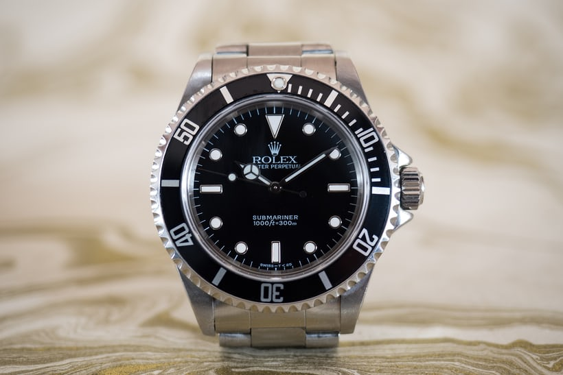 Rolex Submariner 14060 front shot