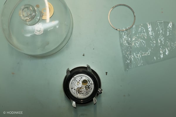 bremont watch assembly