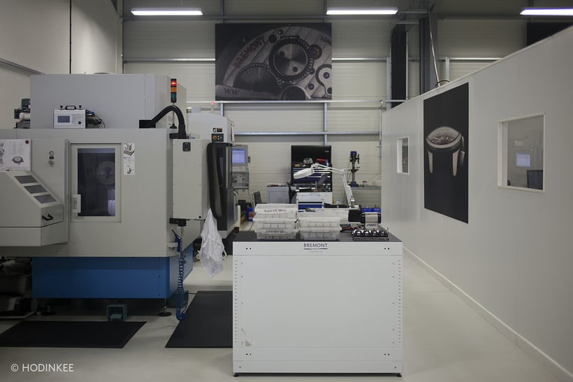 Bremont Silverstone manufacturing facility