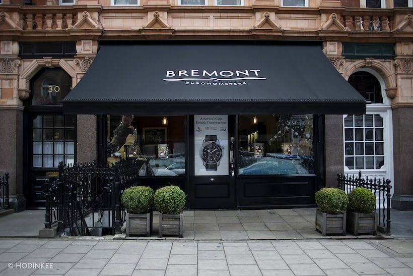 Bremont boutique London