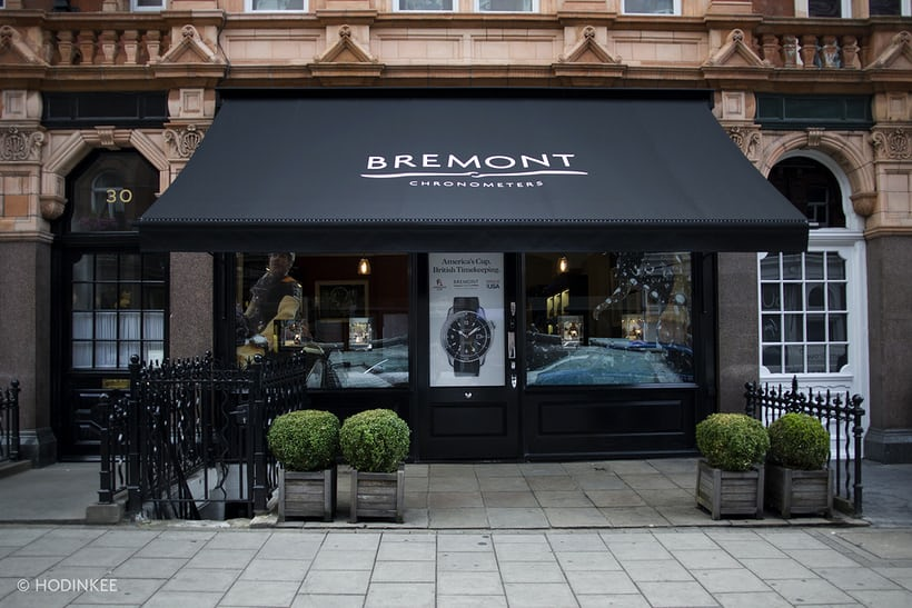 Bremont boutique London