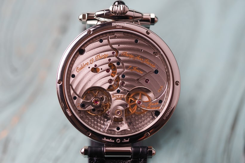 Bovet 19 Thirty movement