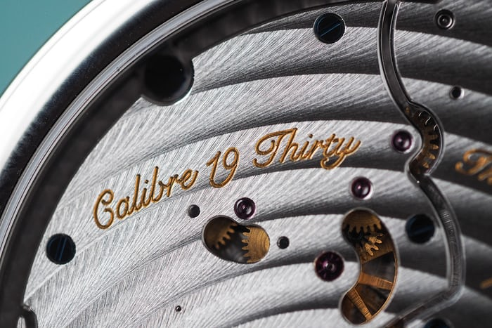 Bovet 19 Thirty closeup