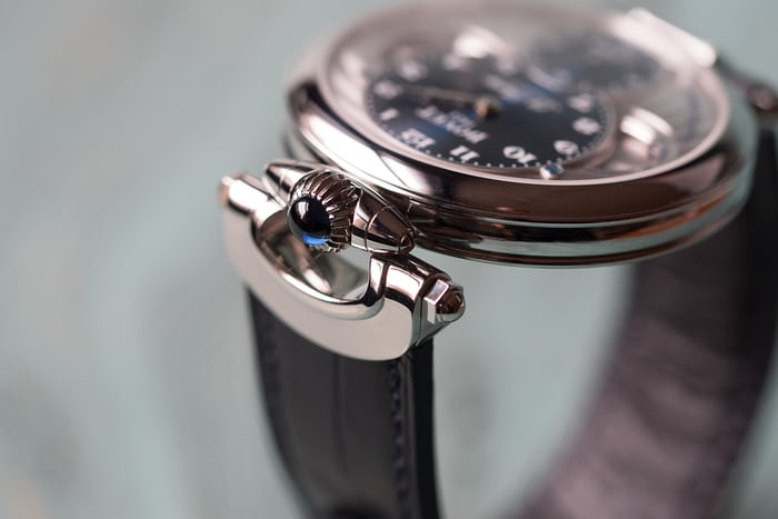 Bovet 19 Thirty crown and bow