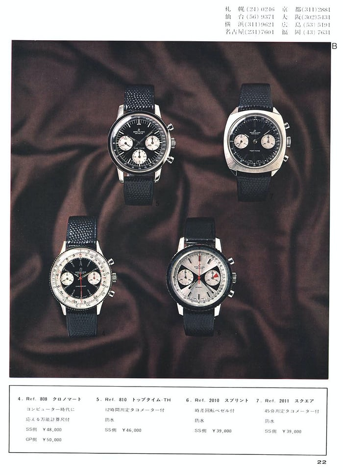 Breitling Top Time Reference 2011 Advertising