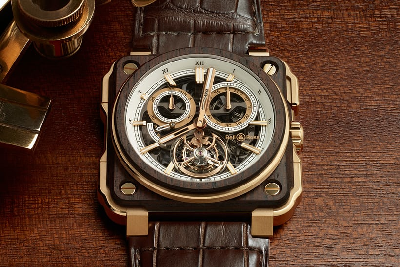 Bell and Ross BR-X1 Tourbillon Chronograph Instrument de Marine