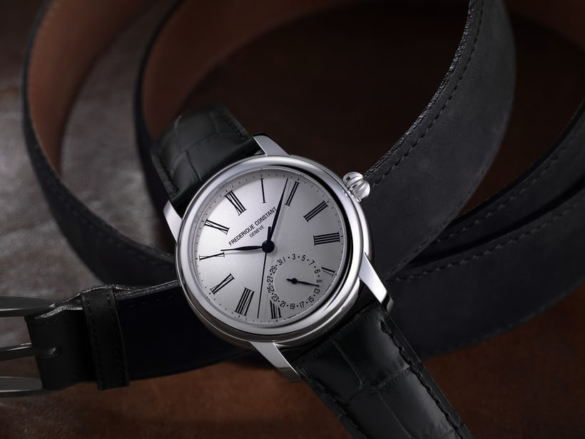 Frederique Constant Classic Manufacture silver dial