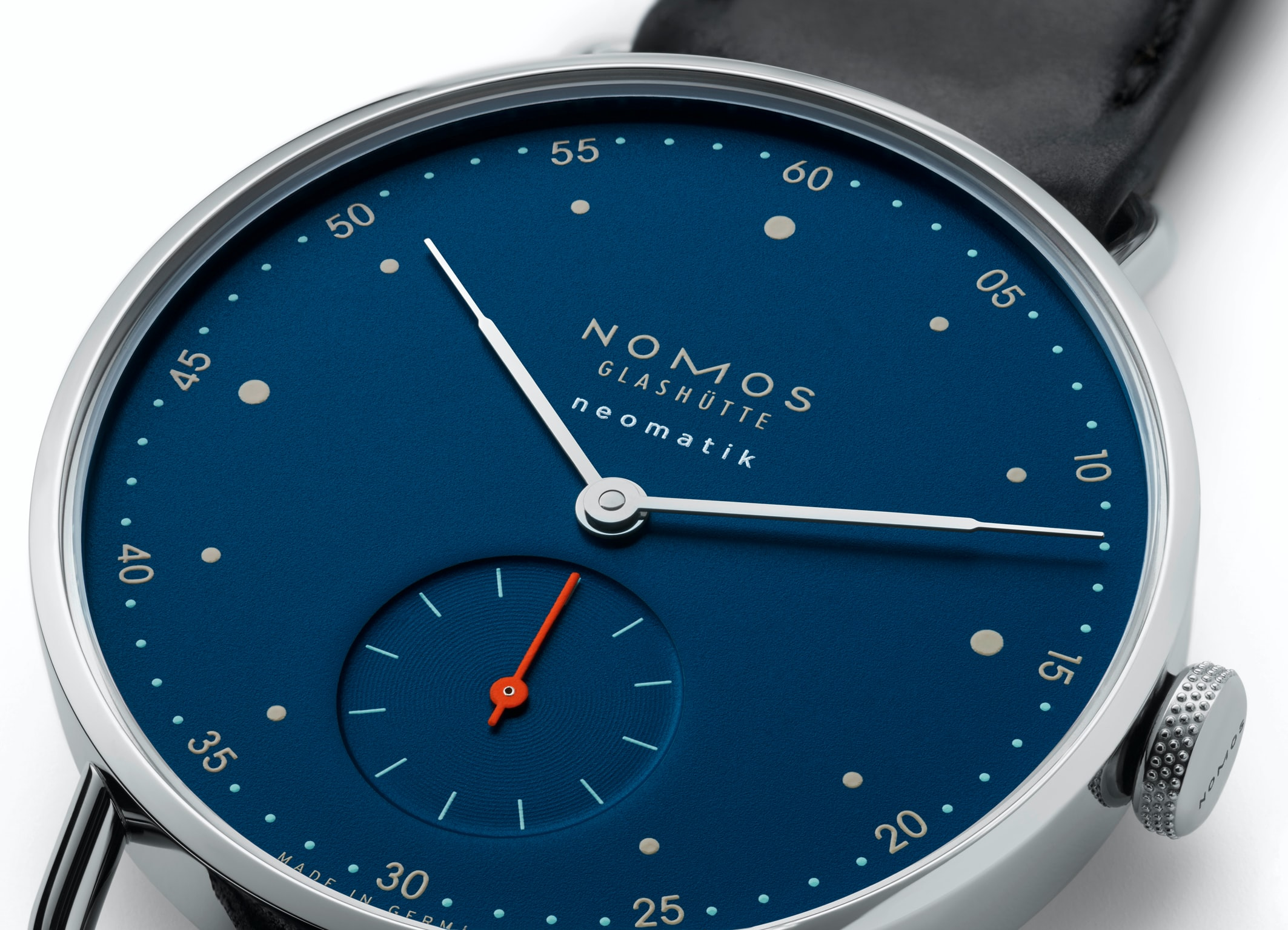 Introducing: NOMOS Plays The Blues – Four Neomatik Models ...
