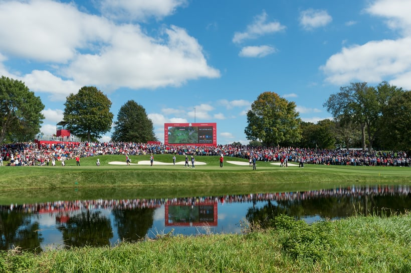 ryder cup practice round