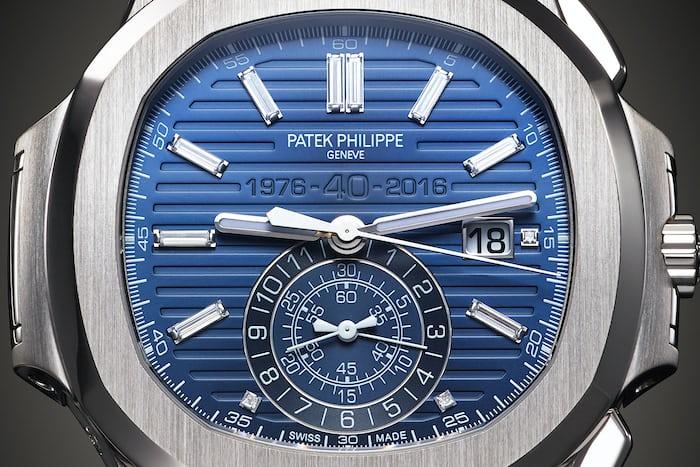 ref. 5976/1G anniversary nautilus patek philippe