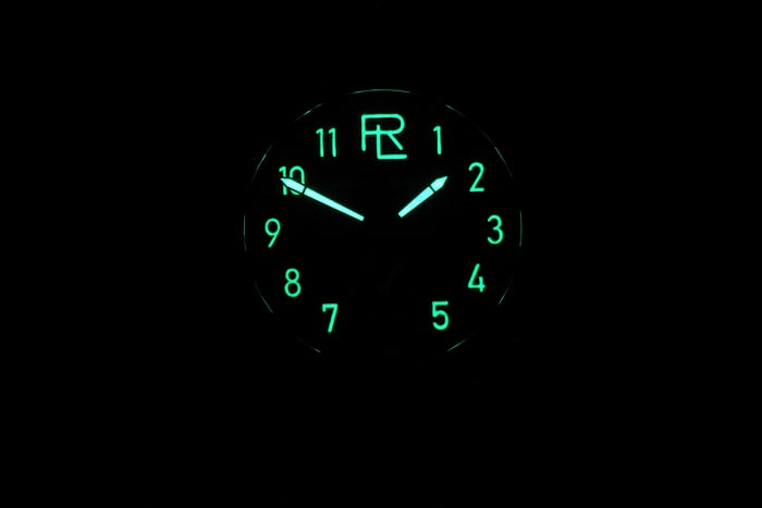 The Ralph Lauren Automotive 39mm lume shot