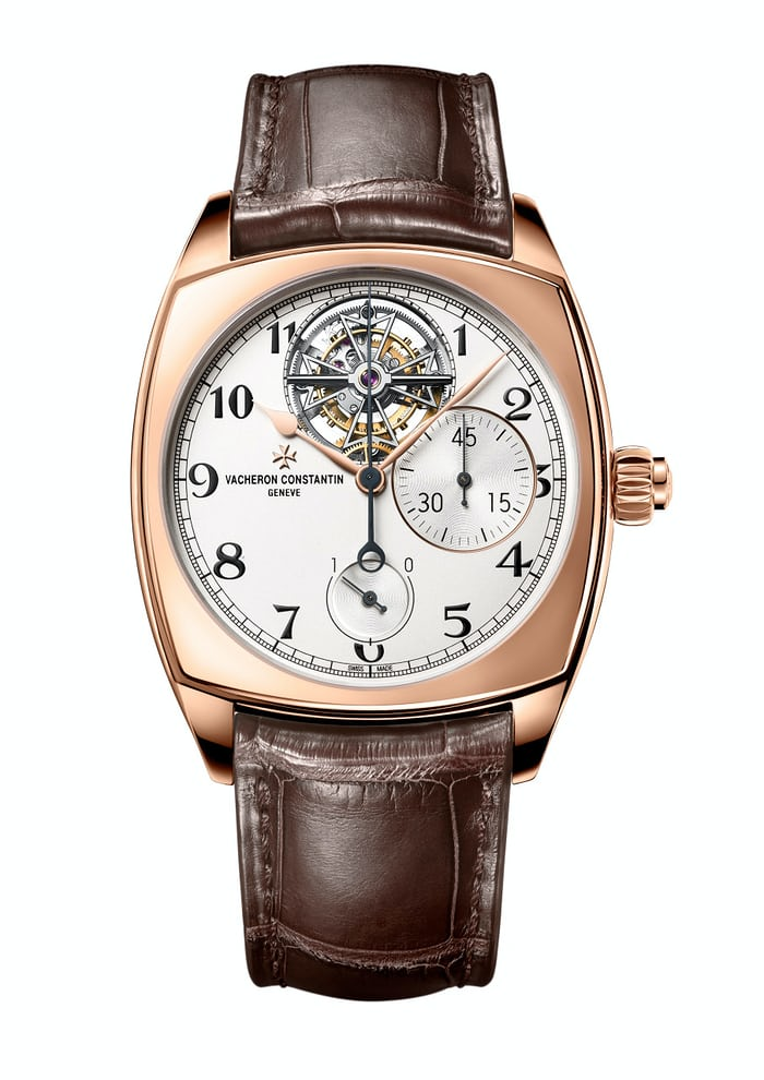 Harmony Tourbillon Chronograph In Pink Gold