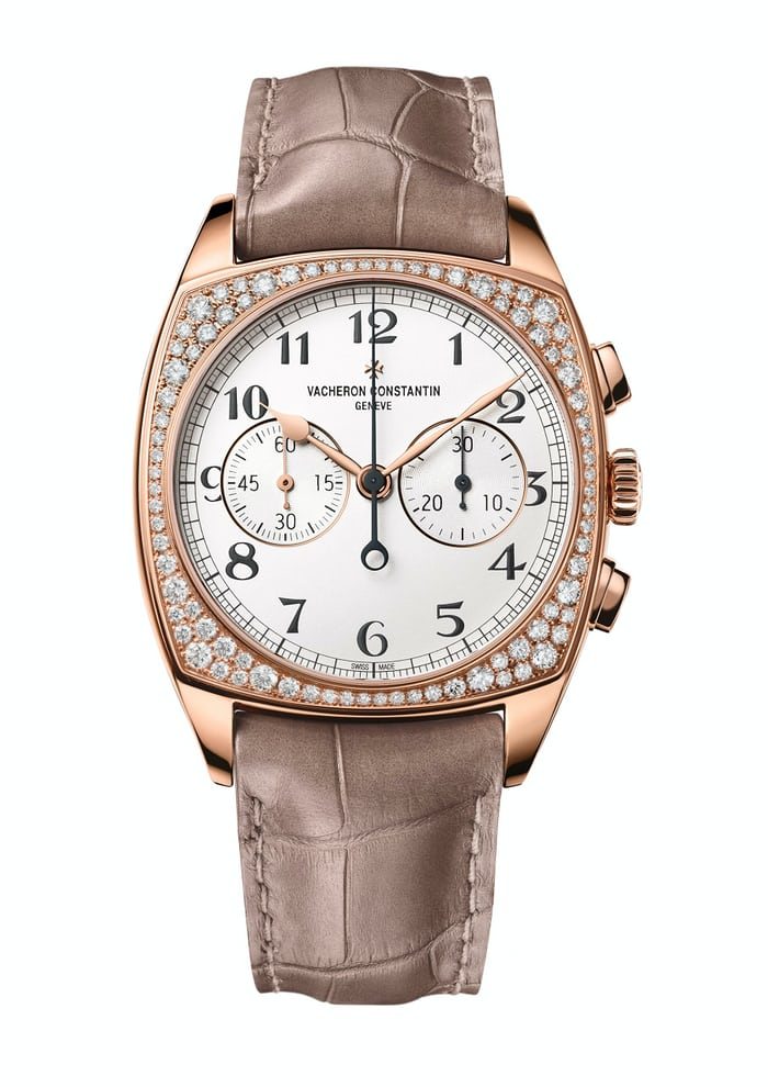 Harmony Chronograph Small Models diamond bezel