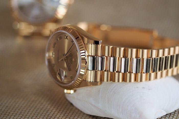 36mm day date bracelet
