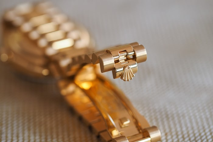 rolex 36mm day date clasp