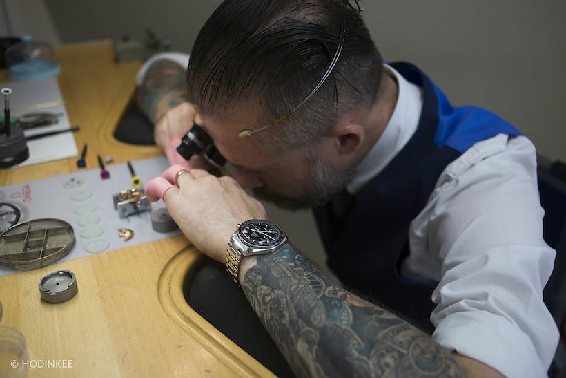 Wayne Clark watchmaker somlo omega