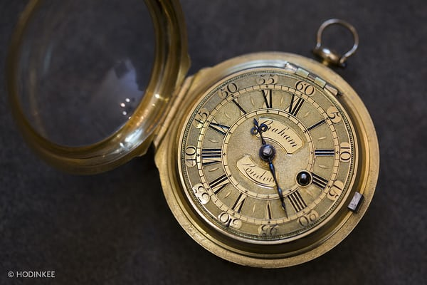 george somlo graham pocket watch