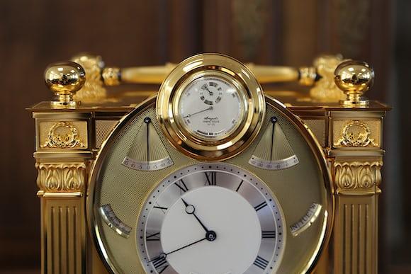 breguet sympathique clock watch dock