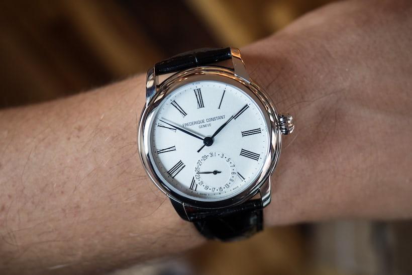 Frederique Constant Classic Manufacture wrist shot