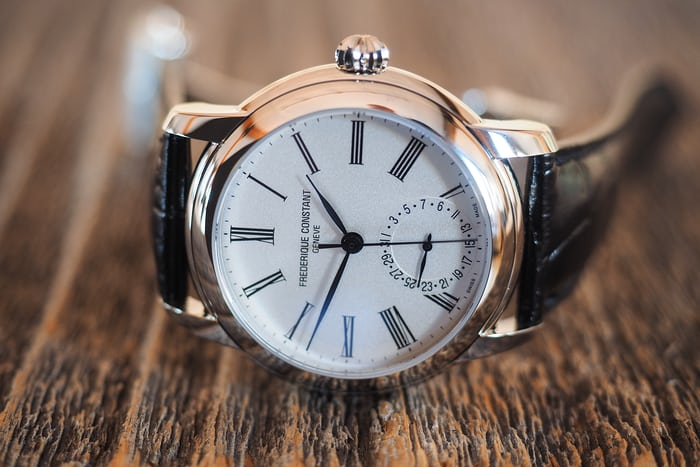 Frederique Constant Classic Manufacture crown up
