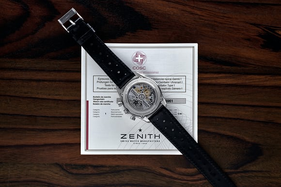 hodinkee el primero original zenith movement