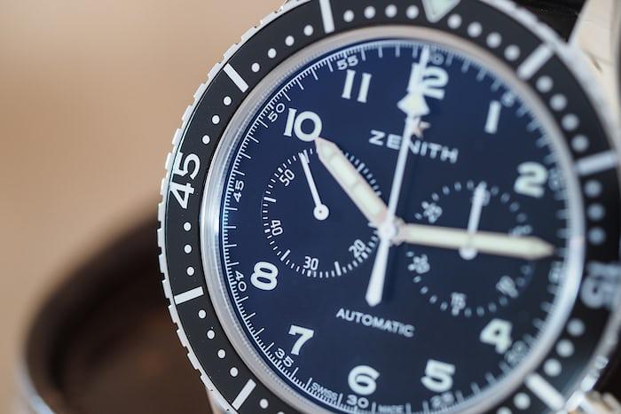 Zenith Cronometro Tipo CP 2 dial