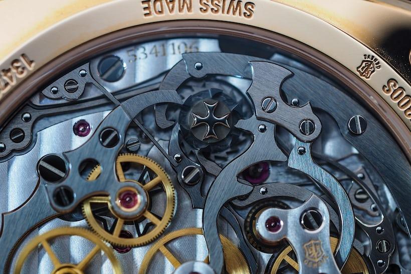 Vacheron caliber 3300 column wheel closeup