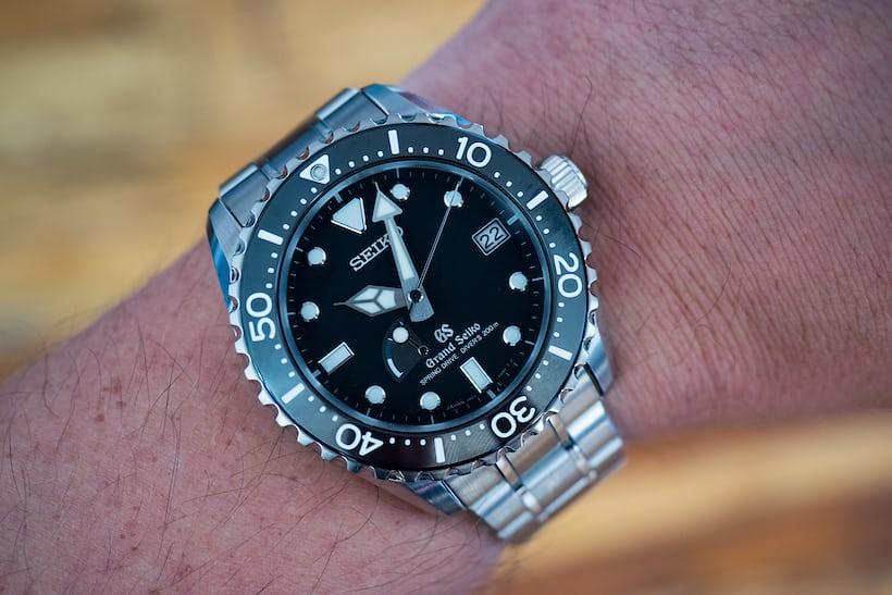 Grand Seiko SBGA029 wristshot