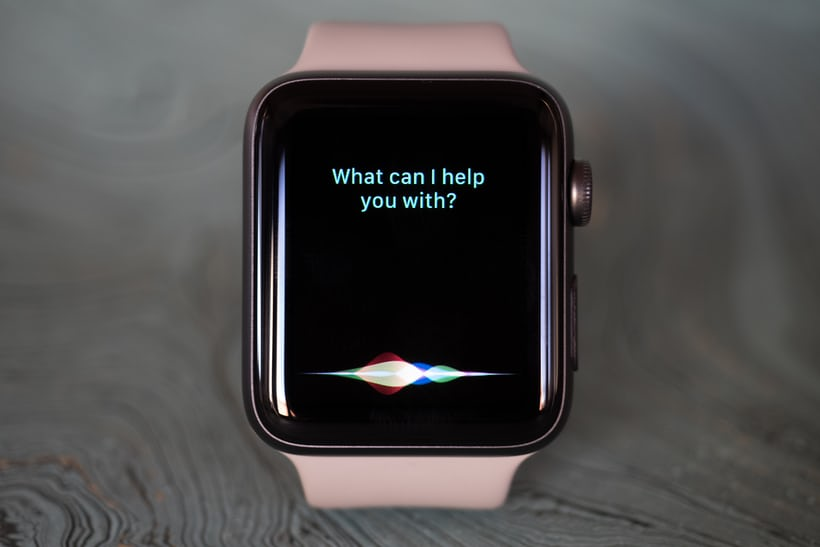 Apple Watch Series 2 siri