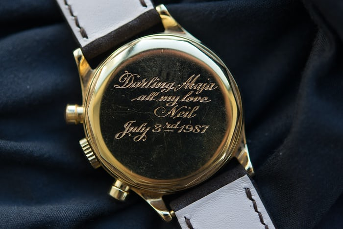 patek cartier 1463 case back