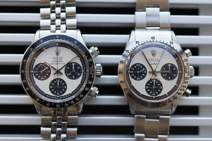 paul newman daytona tiffany oyster