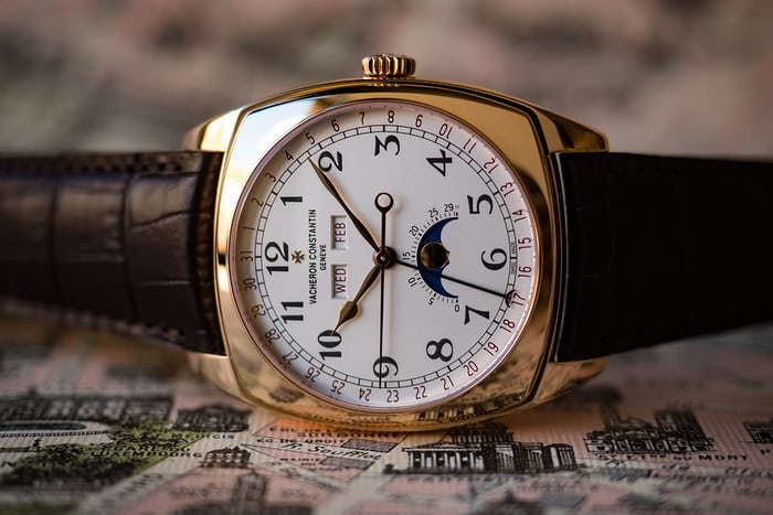Vacheron Constantin Harmony Complete Calendar, dial
