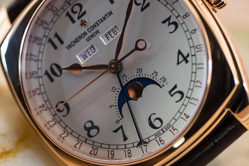 Vacheron Constantin Harmony Complete Calendar, hands and dial