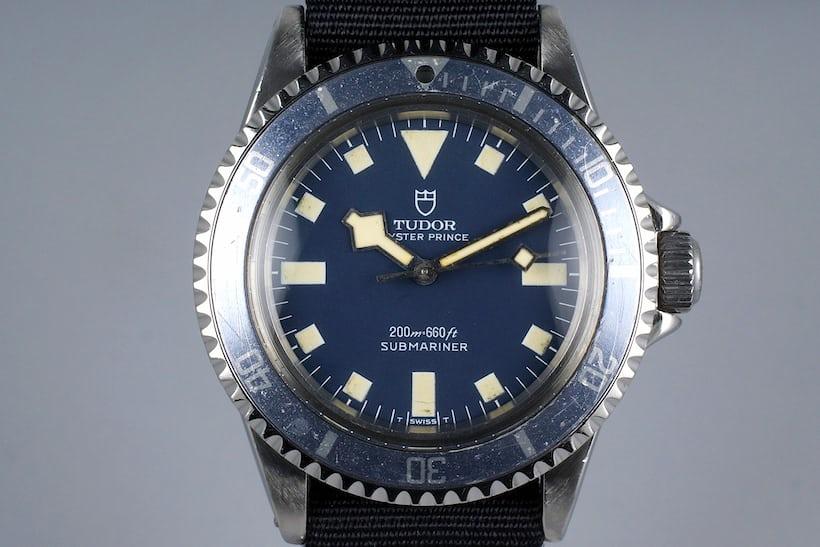Tudor Submariner Reference 9401/0 marine nationale