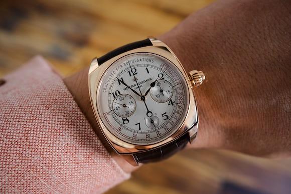 Vacheron Harmony Chronograph wrist shot