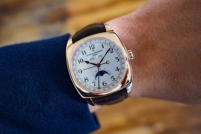 Vacheron Constantin Harmony Complete Calendar, wrist shot