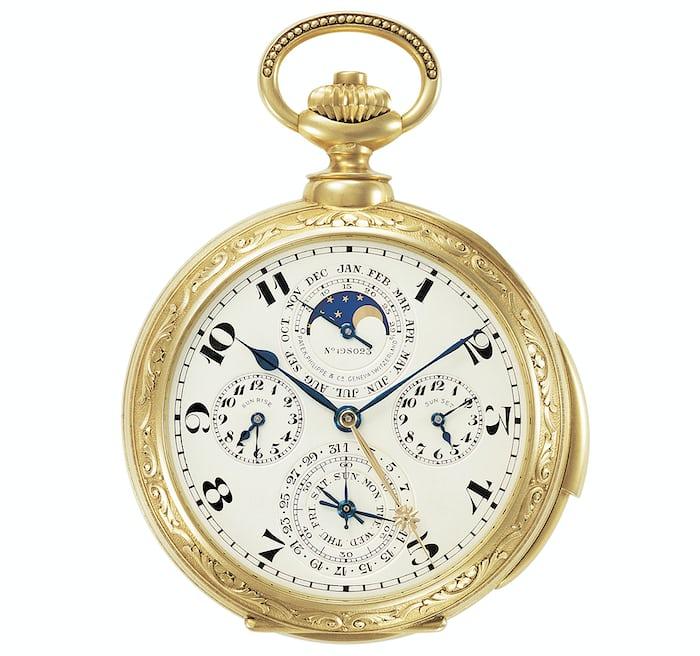 Patek Philippe James Ward Packard watch.