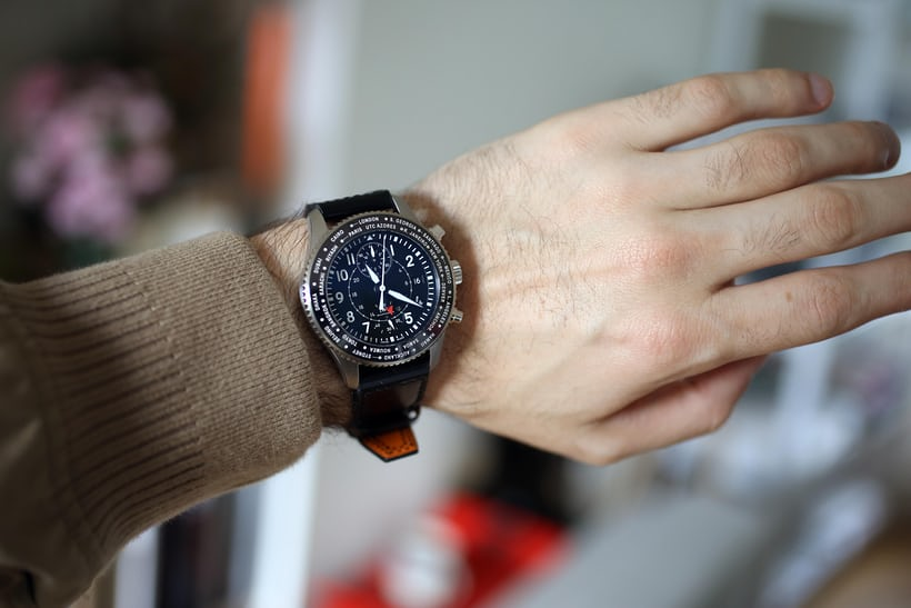 On the wrist, this watch is massive. No two ways about it.