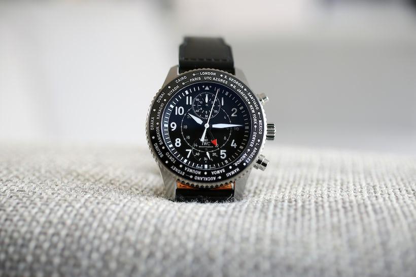 Timezoner Chronograph 3950 iwc