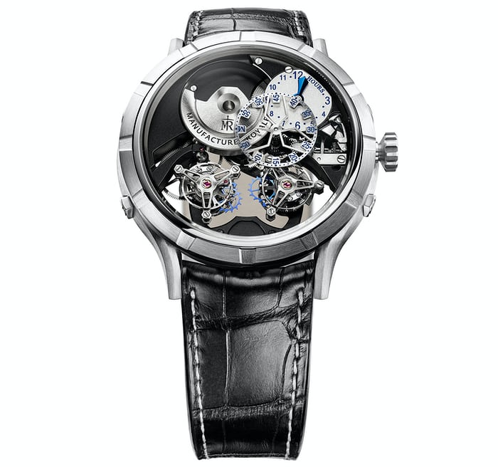 Manufacture Royale 1770 Micromegas Revolution in titaniutm
