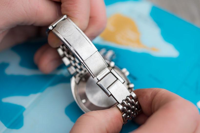 DOXA SUB 200 T-Graph beads of rice bracelet