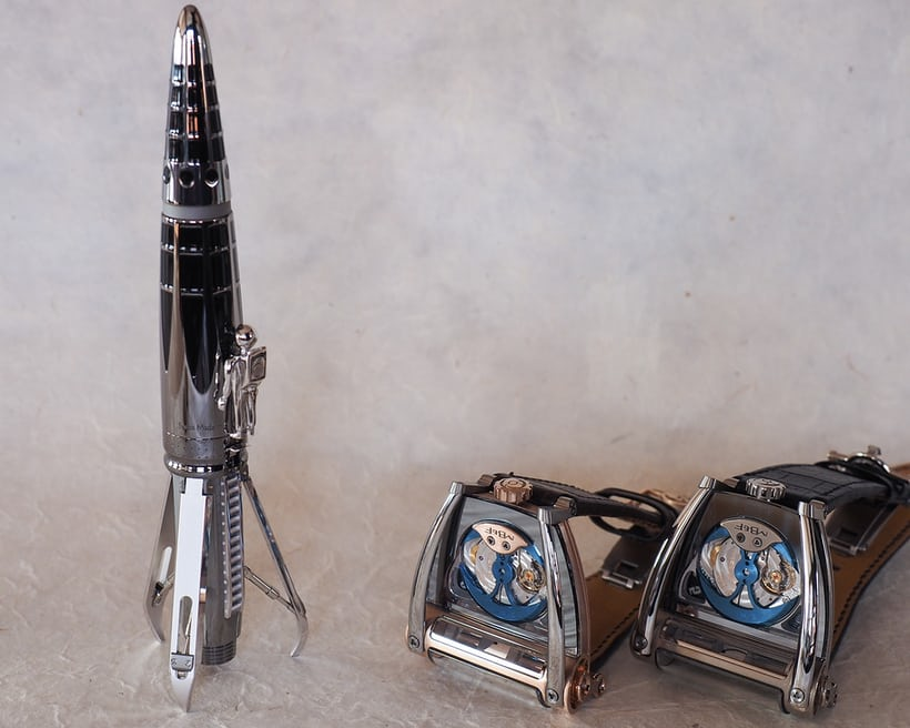 astrograph mb&f landing gear pen
