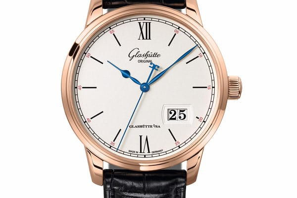 Glashutte Original Senator Excellence Panorama Date in rose gold
