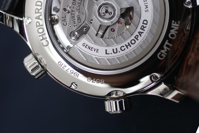 caliber L.U.C 01.10-L chopard close up