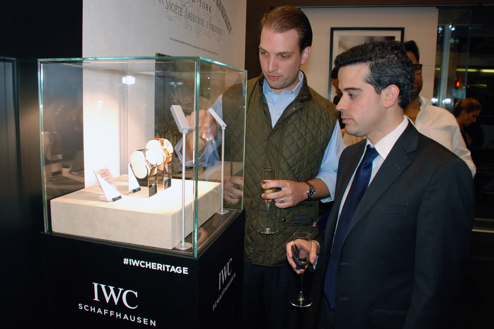 Photo Report: HODINKEE And IWC Celebrate The Portugieser Hand-Wound Tourbillion Edition 'D.H. Craig USA' In New York Photo Report: HODINKEE And IWC Celebrate The Portugieser Hand-Wound Tourbillion Edition 'D.H. Craig USA' In New York 0113 copy