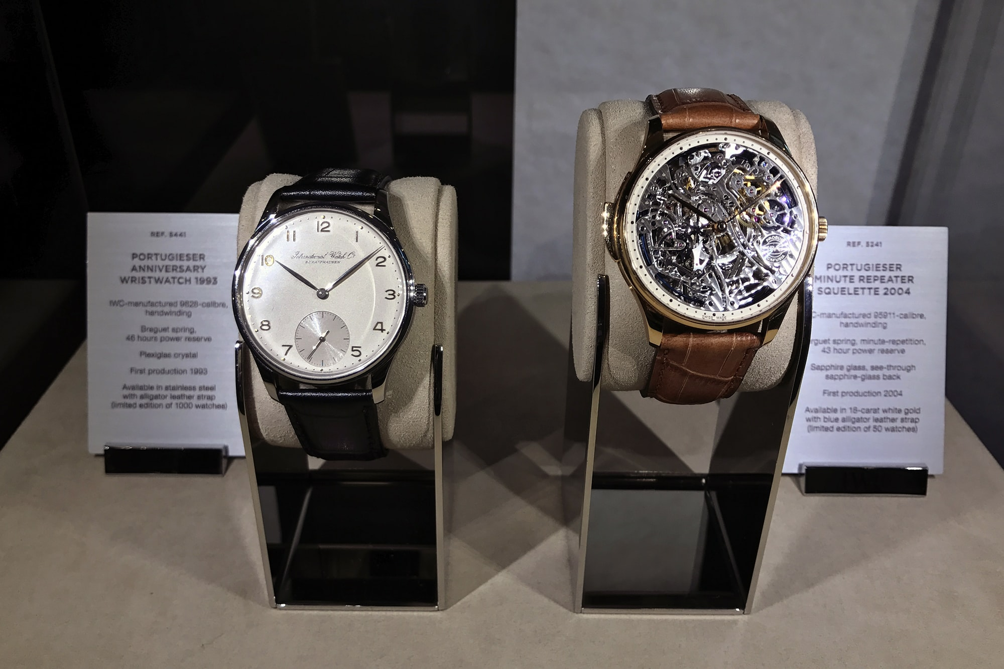 Photo Report: HODINKEE And IWC Celebrate The Portugieser Hand-Wound Tourbillion Edition 'D.H. Craig USA' In New York Photo Report: HODINKEE And IWC Celebrate The Portugieser Hand-Wound Tourbillion Edition 'D.H. Craig USA' In New York 0137 copy