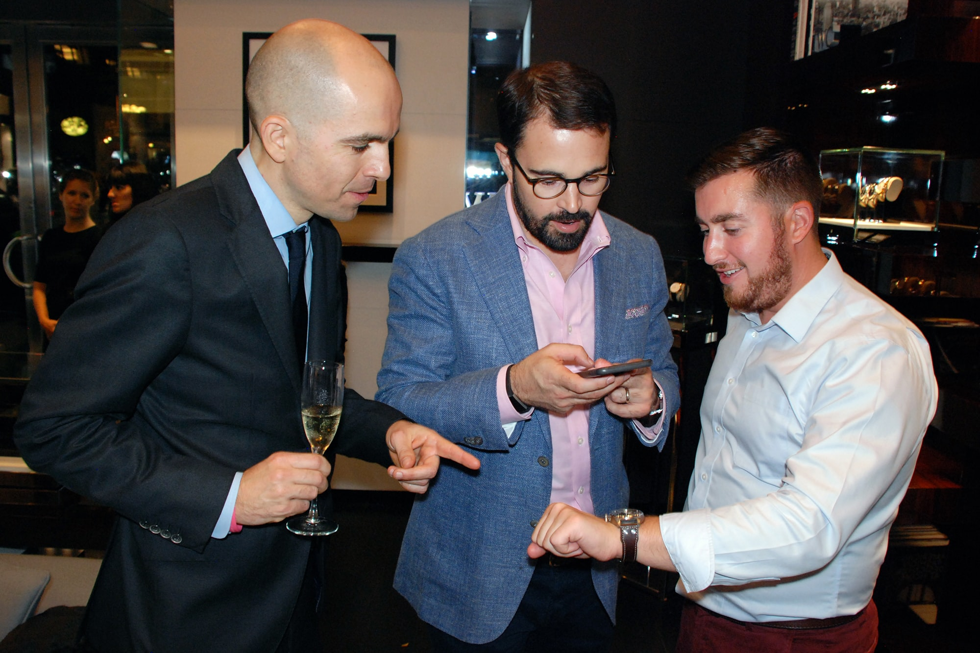 Photo Report: HODINKEE And IWC Celebrate The Portugieser Hand-Wound Tourbillion Edition 'D.H. Craig USA' In New York Photo Report: HODINKEE And IWC Celebrate The Portugieser Hand-Wound Tourbillion Edition 'D.H. Craig USA' In New York 0127 copy
