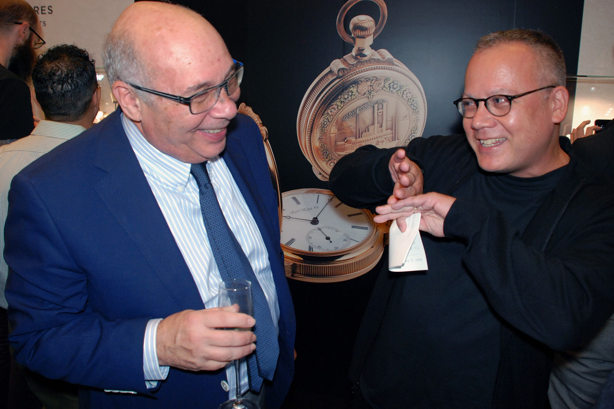 Photo Report: HODINKEE And IWC Celebrate The Portugieser Hand-Wound Tourbillion Edition 'D.H. Craig USA' In New York Photo Report: HODINKEE And IWC Celebrate The Portugieser Hand-Wound Tourbillion Edition 'D.H. Craig USA' In New York 0110 copy
